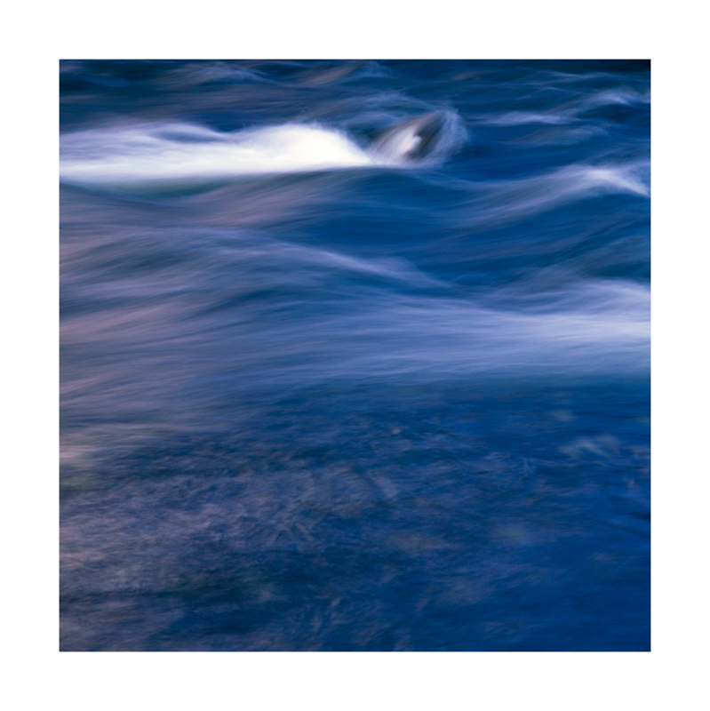 long exposure river blurred motion velvia