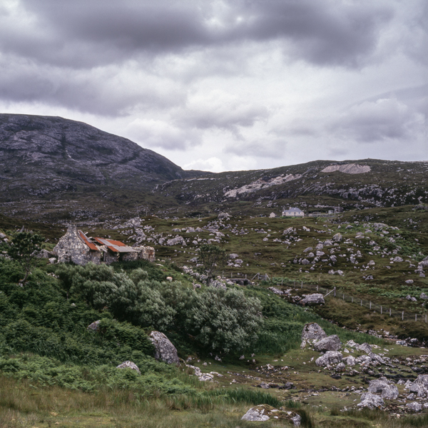 Lingerbay on the Golden Road, Harris, Outer Hebrides, decay, croft, abandoned