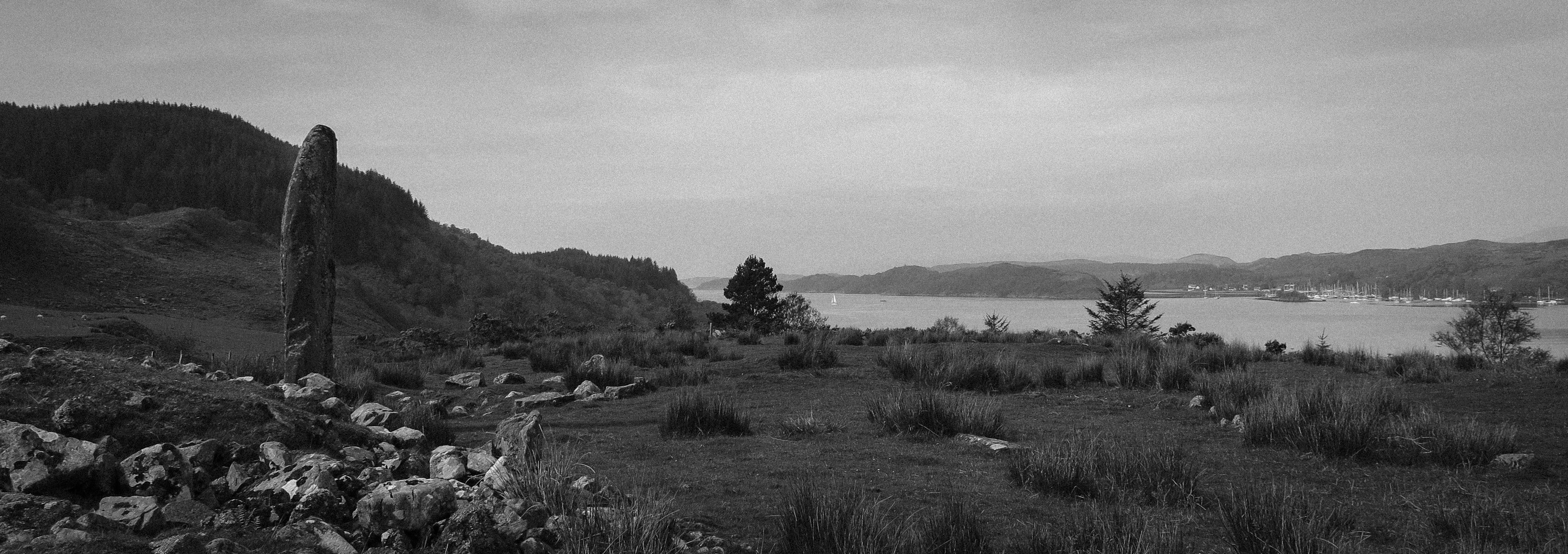 Kintraw Standing Stone West Coast of Scotland
